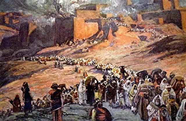 the neo bablylonian raid of the city of jerusalem in 586 bce